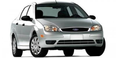 2005 Ford Focus ZX4 S (Cloud 9 White)