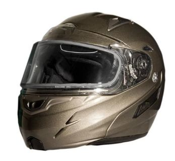 Find ZOX GENESSIS RN2 SVS METALLIC TITANIUM LG HELMET DUAL LENS 86-56344 motorcycle in Ellington, Connecticut, US, for US $189.95
