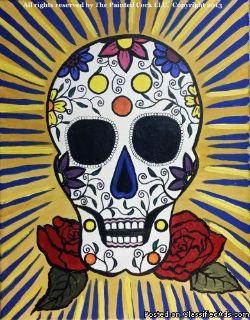 Sacramento Studio 11/18: Sugar Skull ~ $5 Off!