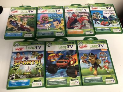 Leap Tv Games