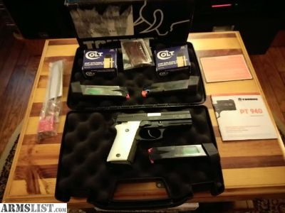 For Sale: Taurus PT940 New and Unfired with case, ammunition, and accessories