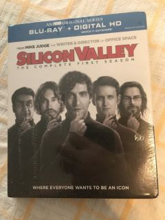 Silicone Valley Season 1 Blu-ray