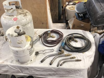 Propane Torch Tips, Regulator and Hoses