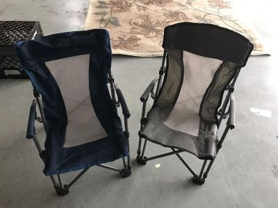 Two Child Camping Chairs