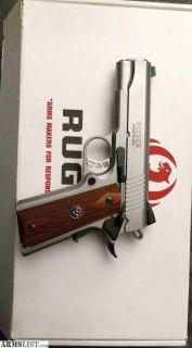 For Sale/Trade: Ruger 1911 commander