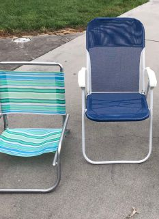 Low chairs $2 each