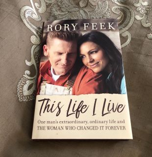 Rory Feek This Life I Live Hardcover Book