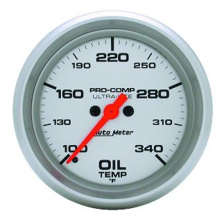 "Purchase Auto Meter 4456 Ultra Lite 2 5/8"" Mechanical Oil Temperature Gauge 100-340 F motorcycle in Greenville, Wisconsin, US, for US $199.88"
