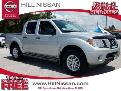 2018 Nissan Frontier CREW CAB 4X4 SV V6 AUTO (SILVER)