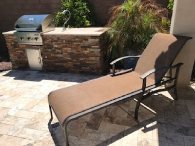 New chaise lounge for patio!