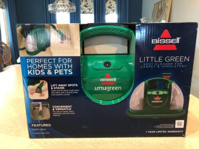 Bissell Little Green carpet & upholstry cleaner