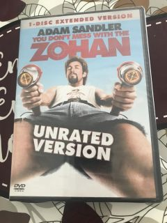 You don t mess with the Zohan dvd