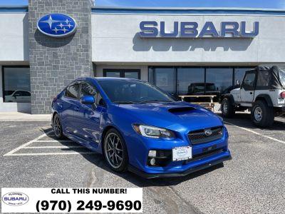 2017 Subaru WRX STi Limited (WR Blue Pearl)
