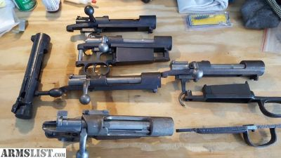 For Sale: Mauser Bolts, etc....