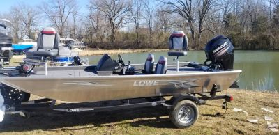 2019 Lowe SKORPION 17 W/ MERCURY 60H & TRAILER Aluminum Fish Boats West Plains, MO