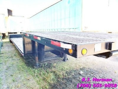 2008 Jet 48ft X 102in Drop Deck Trailer
