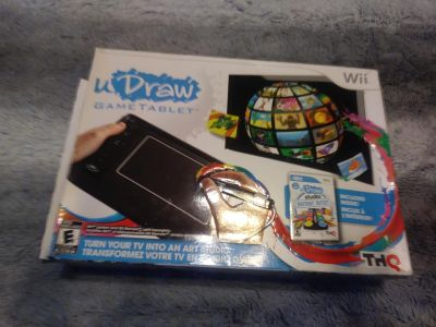 New uDraw game tablet new in excellent condition