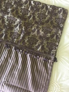 Pair of 84 long curtains