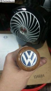 Vintage vw wood shift knob