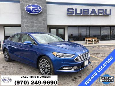 2018 Ford Fusion Titanium (Lightning Blue)