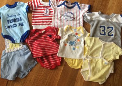 FREE Baby clothes. Some light staining. PPU in Mansker Farms.