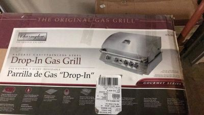 Natural Gas Drop in Grill, Side Burner and Searing Station