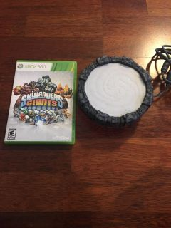 Skylanders game and portal for Xbox360