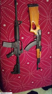 For Sale: Bushmaster and Mak90