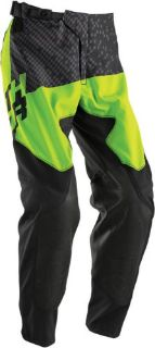 Purchase Thor Prime Tach Pants - Black/Flo Green - Size 28 2901-5650 2901-5650 motorcycle in Loudon, Tennessee, United States, for US $119.95