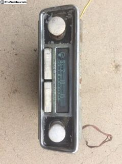 Blaupunkt Wolfsburg early radio