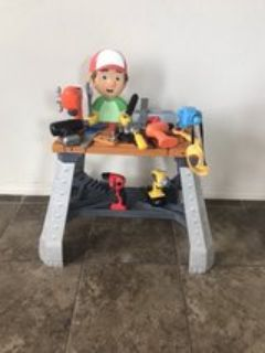 handy Manny Talking Tool Bench