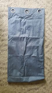 one panel curtain