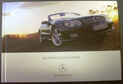 Buy 2007 Mercedes-Benz SL Class Hard Cover Prestige Sales Brochure UK Edition Rare! motorcycle in Holts Summit, Missouri, United States, for US $44.98