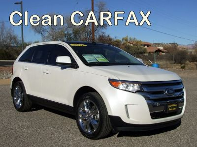 2011 Ford Edge Limited (White)