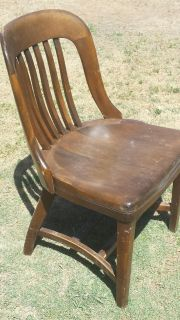 Antique lawyer's office chair