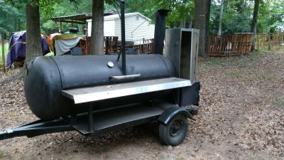 Custom, built smoker