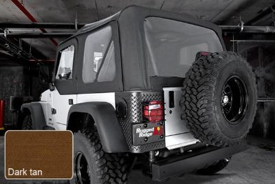 Sell Rugged Ridge 13723.33 - Jeep Wrangler XHD Soft Top w Door Skins, w Clear Windows motorcycle in Suwanee, Georgia, US, for US $430.44