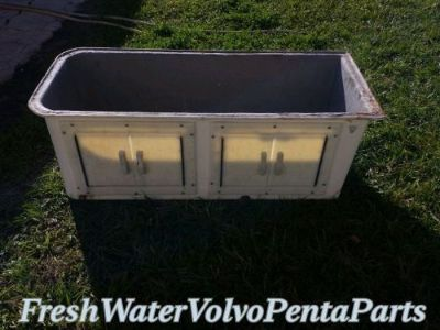 Sell Fiberglass marine seat base storage w doors 18 Deep x 42 Wide 15 Height motorcycle in North Port, Florida, United States, for US $125.00