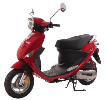2018 Genuine Scooters Buddy 50 250 - 500cc Scooters Winterset, IA