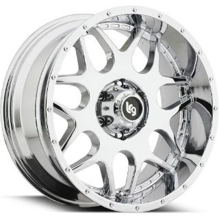 Sell 20x9 Chrome LRG 104 6x5.5 +0 Rims W/ Nitto Mud Grappler 35x12.50R20LT Tires New motorcycle in Saint Charles, Illinois, United States, for US $2,654.05