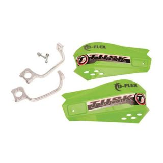 Purchase Tusk MX D-Flex MC Motorcycle Dirt Bike Handguards Hand Guards *GREEN* motorcycle in Troy, Illinois, United States, for US $34.95