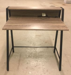Student Desk with built in Hutch and USB Port i