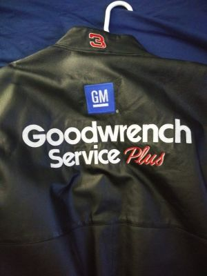 Seven-time Champion Goodwrench Dale Earnhardt leather jacket
