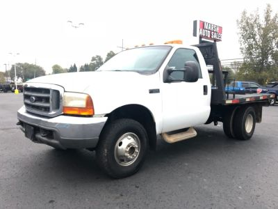 "1999 Ford Super Duty F-350 DRW Reg Cab 165"" WB XLT 4WD (White)"