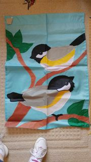 NWT - Chickadee Flag (large size) - Stitched - not printed