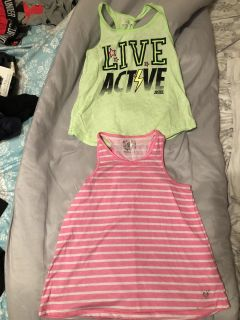 EUC Justice(green) & GUC(pink) size 8