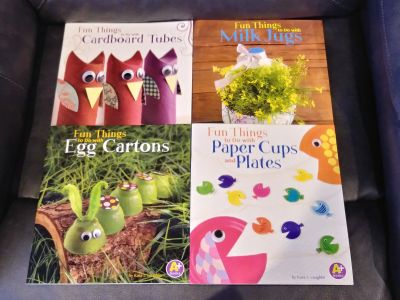 NEW never used Craft idea books to for toddlers & young kids P/U ONLY $2 for all 4