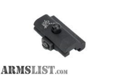 For Sale: KAC-KNIGHT'S ARMAMENT RAS BIPOD ADAPTER FOR LOWER RAIL