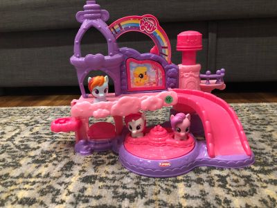 EUC My Little Pony playset