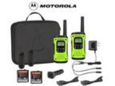 Motorola Talkabout T605 H2O Walkie Talkie Set 35 Mile Two